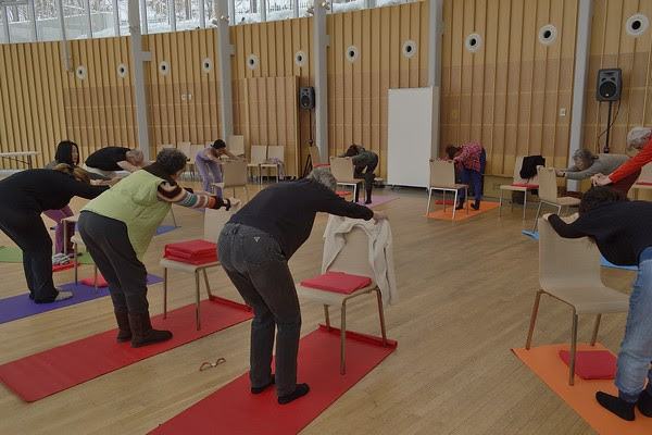 More STH yoga offsite workshops for seniors