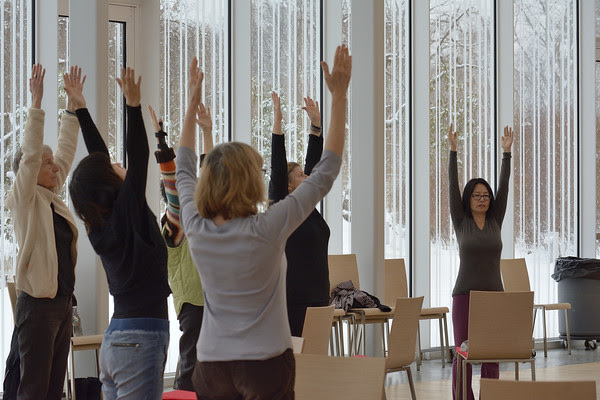 STH offers special chair yoga workshops at BBG