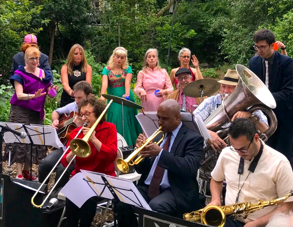 "STH Bandwagon Productions Presents ""Prom Grass"" in Garden of Union 2018. Photo: Erik Almeida"