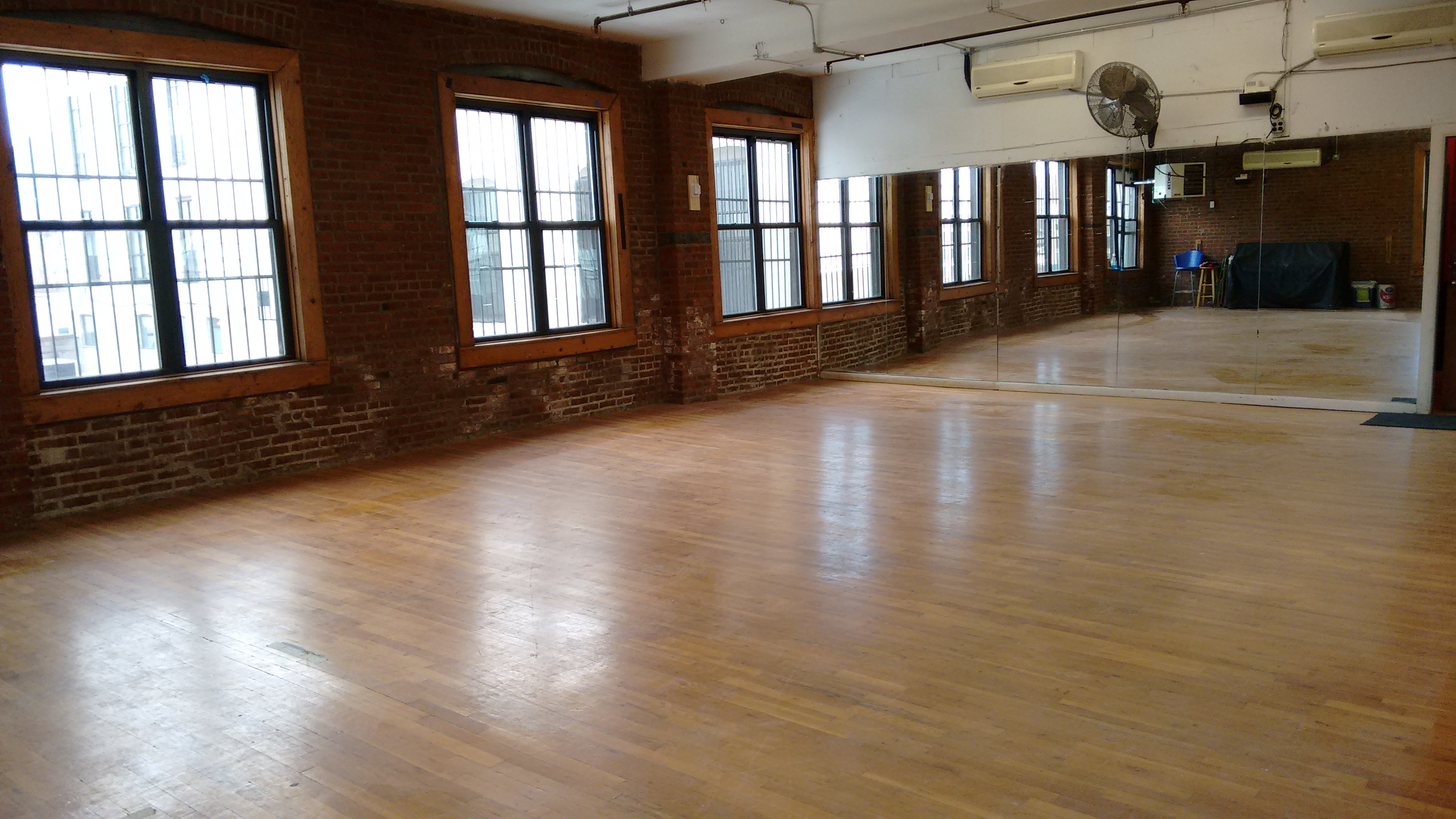 The Newly Constructed Studio A - formally STH