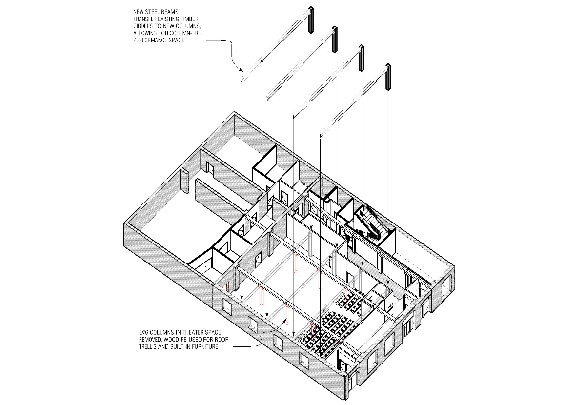Gowanus Rendering of Third Floor